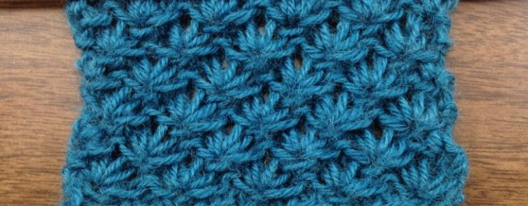 Example of the Lotus Flower Stitch