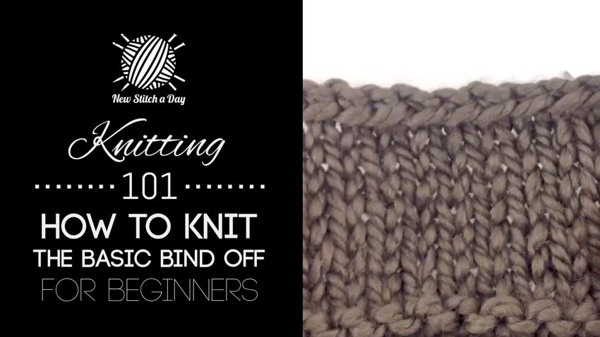 Knitting 101 New Stitch A Day
