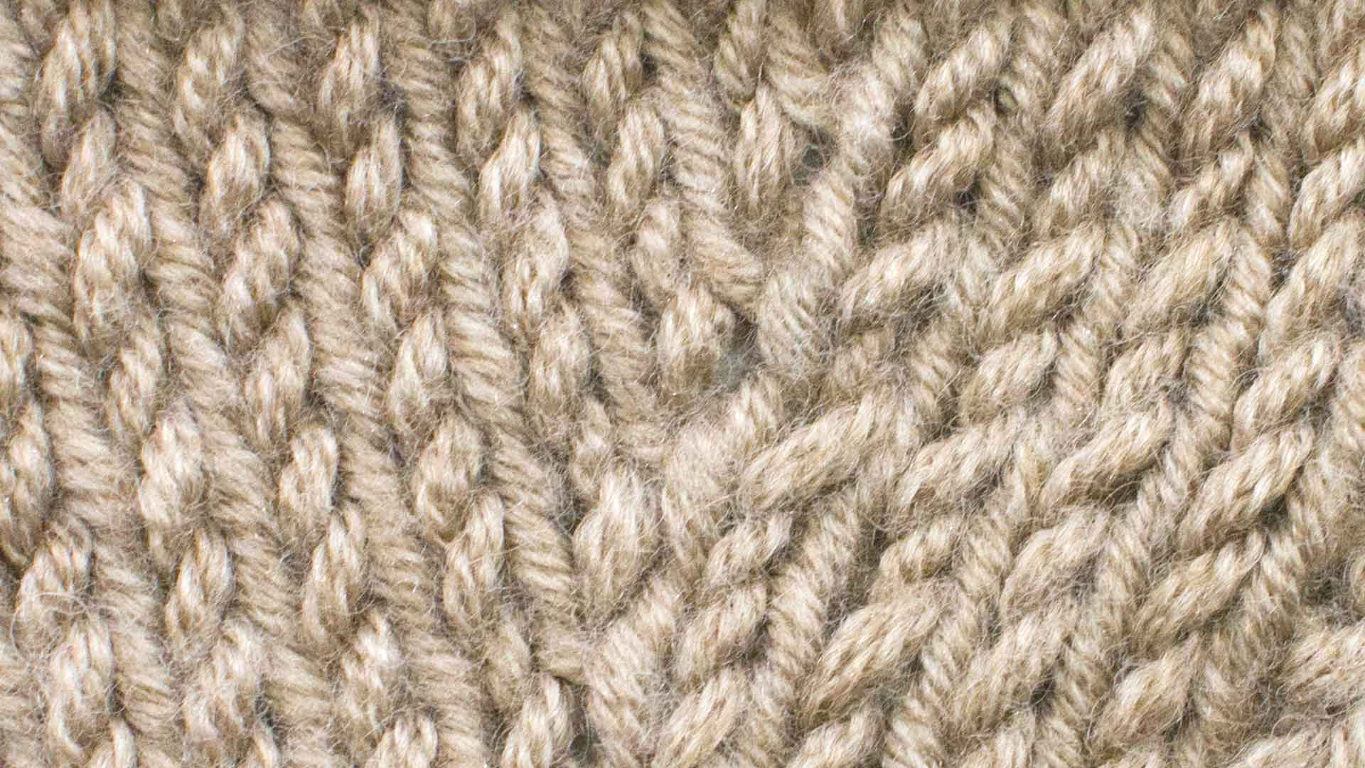 Knitting Stitches M1l : Make One Left Increase (M1L) :: Knitting :: New Stitch a Day