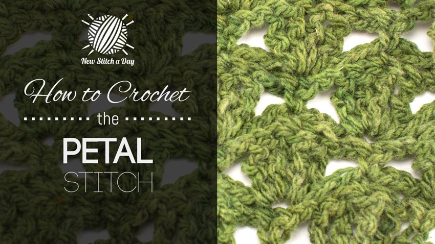 How to Crochet the Petal Stitch