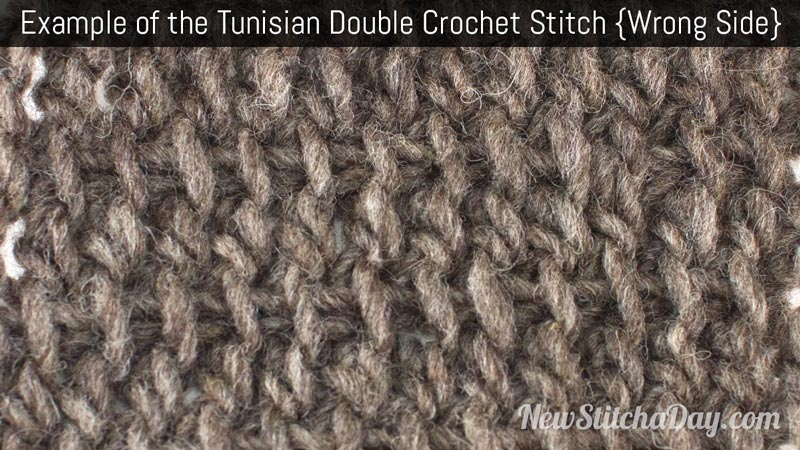 Crochet the Tunisian Double Crochet Stitch :: Tunisian Crochet Stitch ...