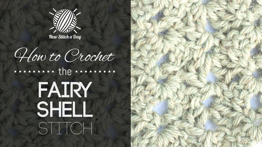 How to Crochet the Fairy Shell Stitch