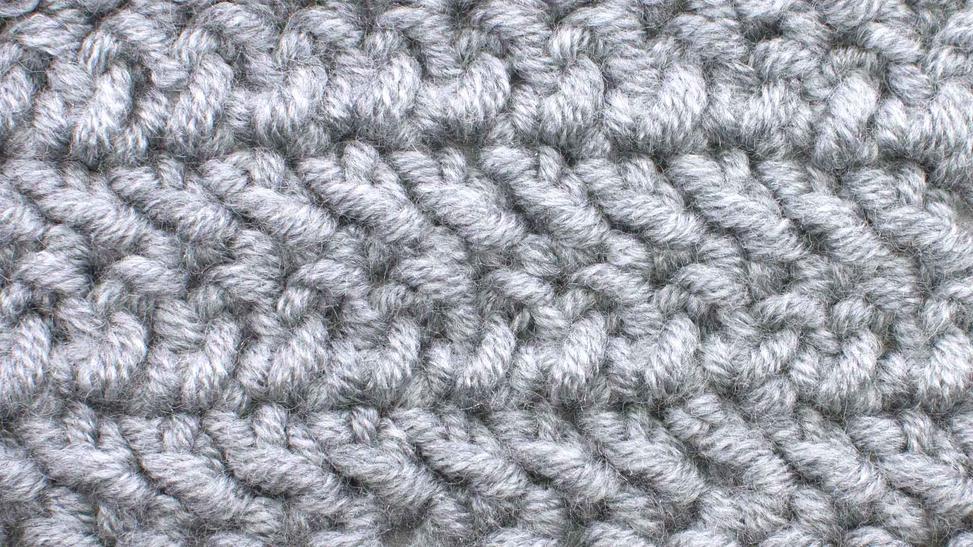 Herringbone DC (HBDC) :: Crochet :: New Stitch a Day